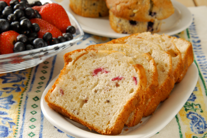 Cranberry Nut Bread For Thanksgiving